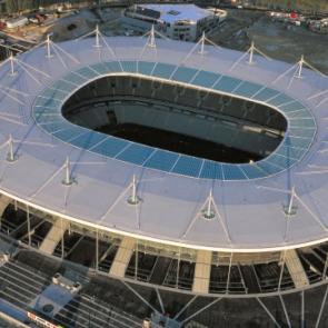 Stade de France, the sky view