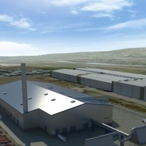 Centrale de gazéification biomasse